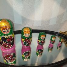 Matriochka poupée russe 5 pièces